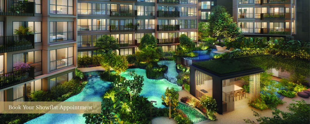 The Watergardens Showflat viewing